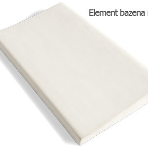 Element bazena ravni